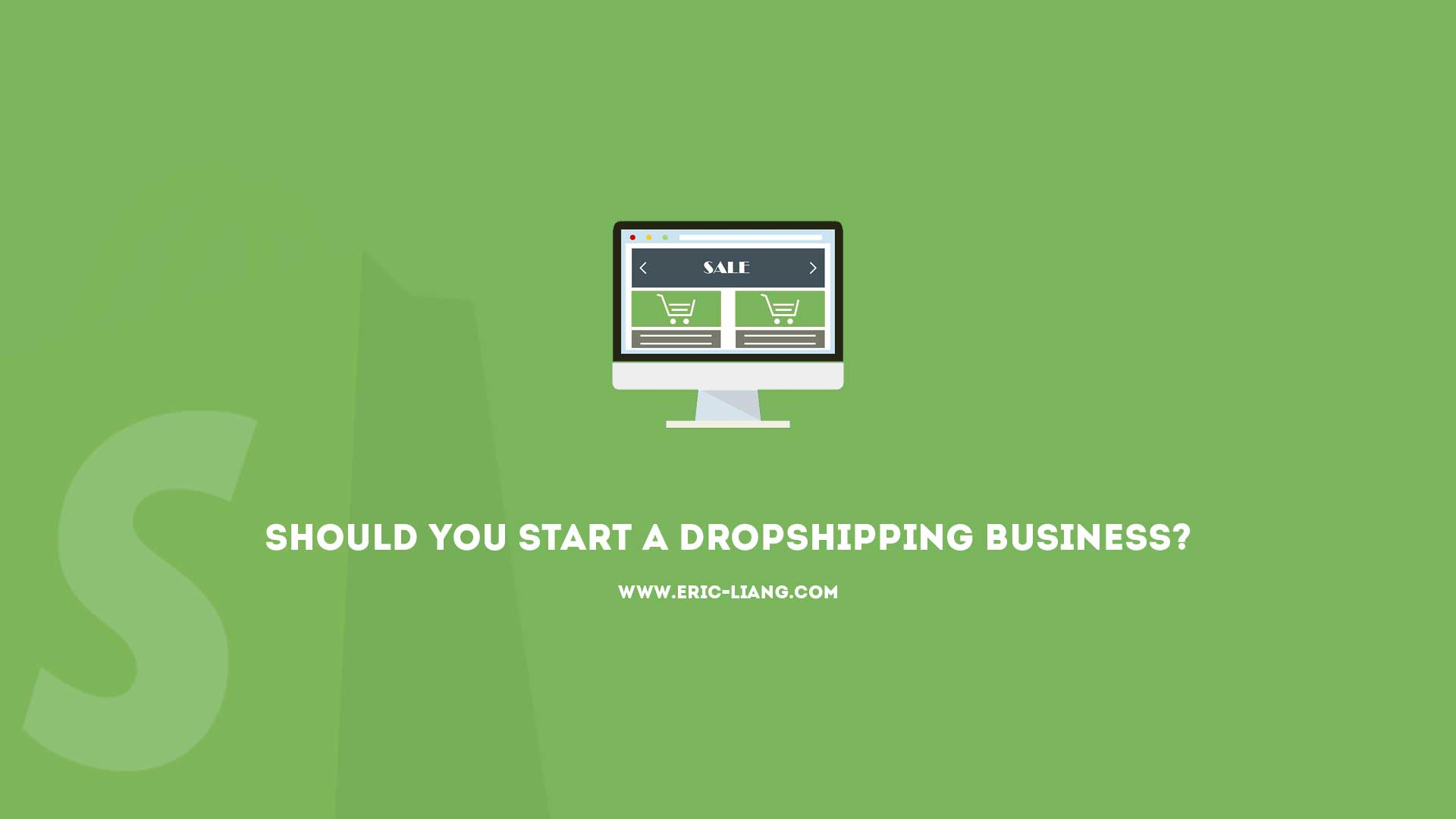 Should You Start a Dropshipping Business?