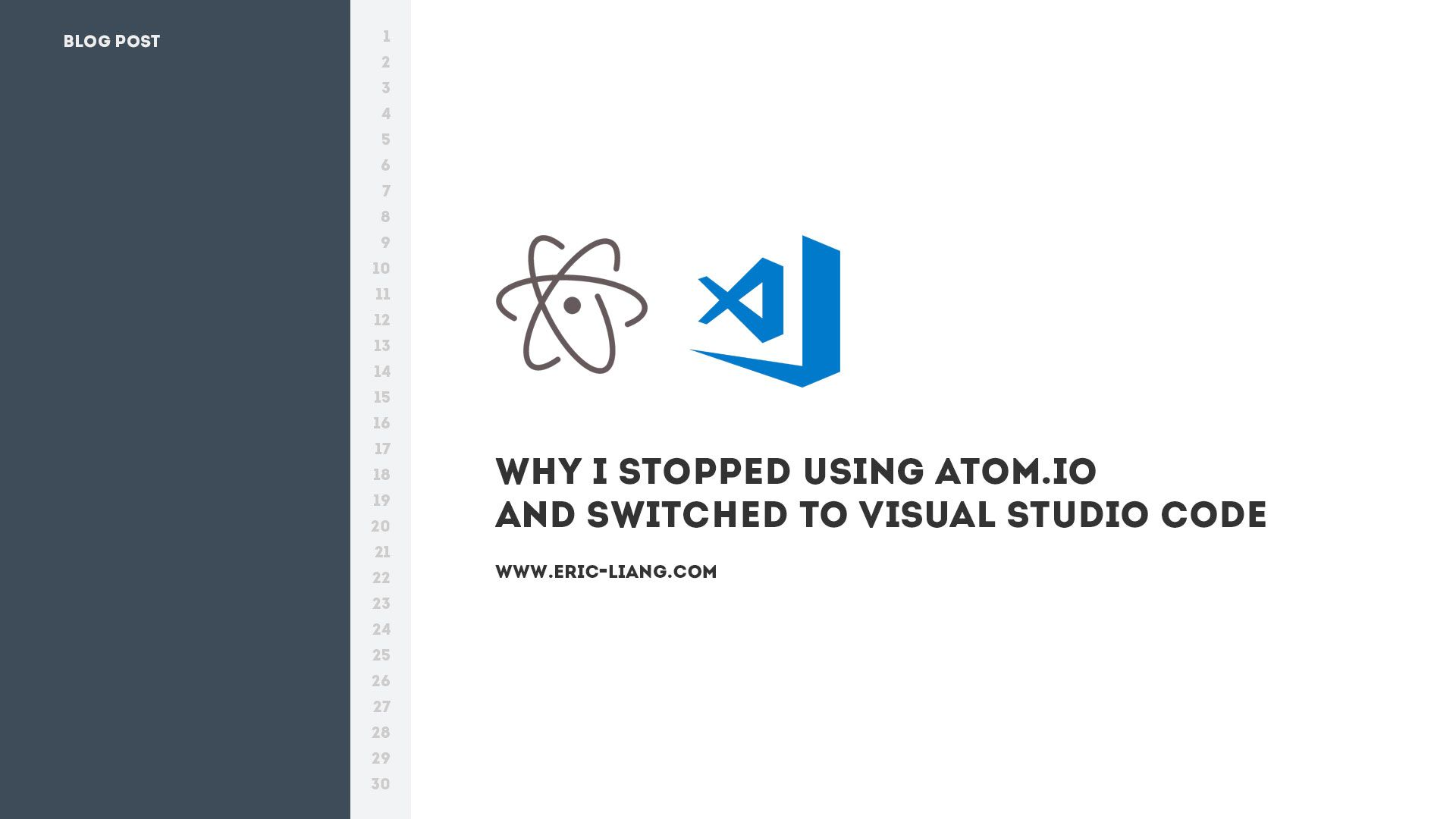 Why I Stopped Using Atom.io And Switched To Visual Studio Code